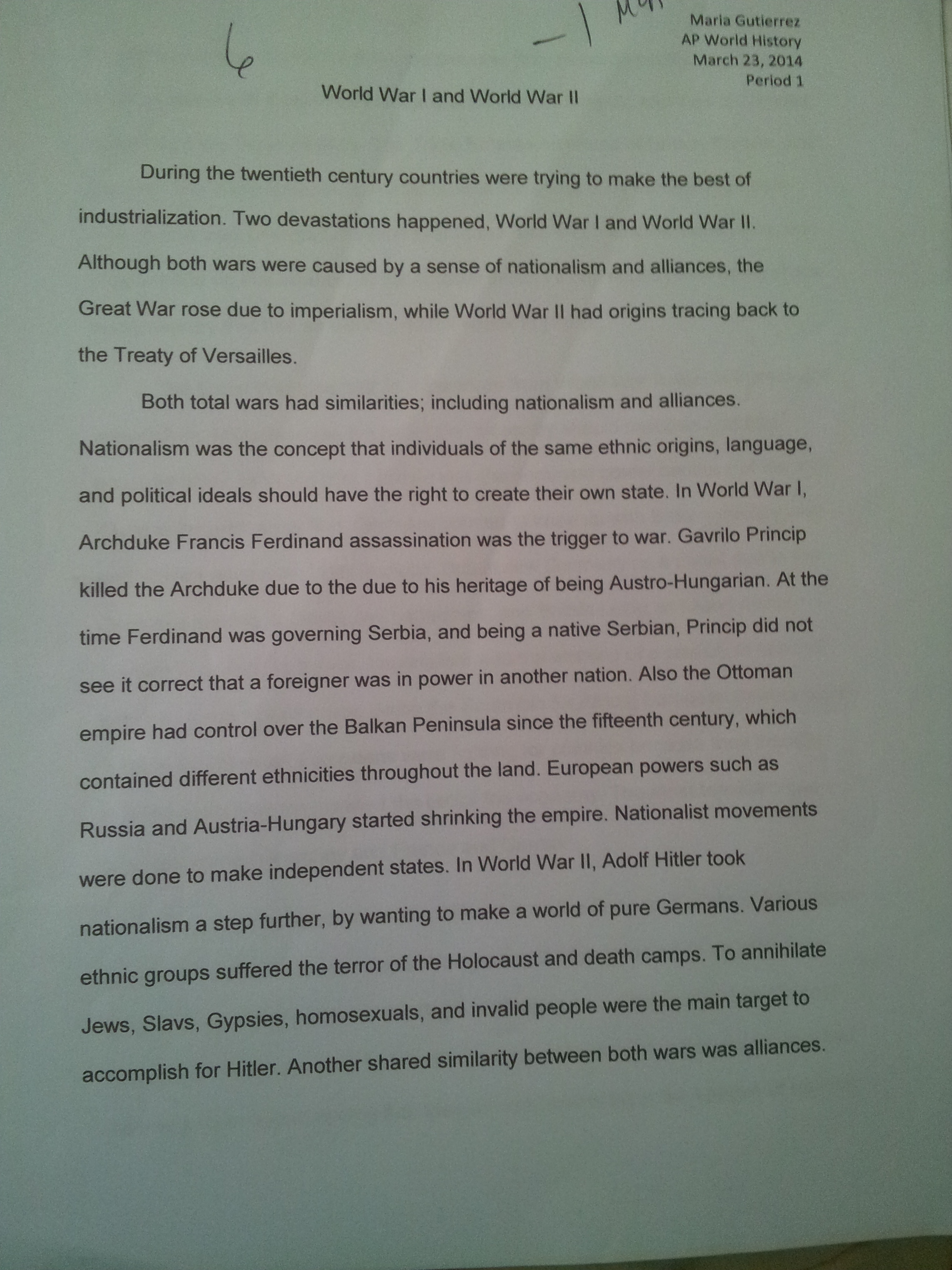 Great man theory essay